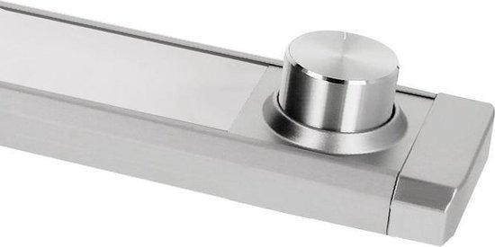 Bol Com Led Keukenverlichting 60cm Calina Opbouw 8w Switch Tone Aluminium Dimbaar