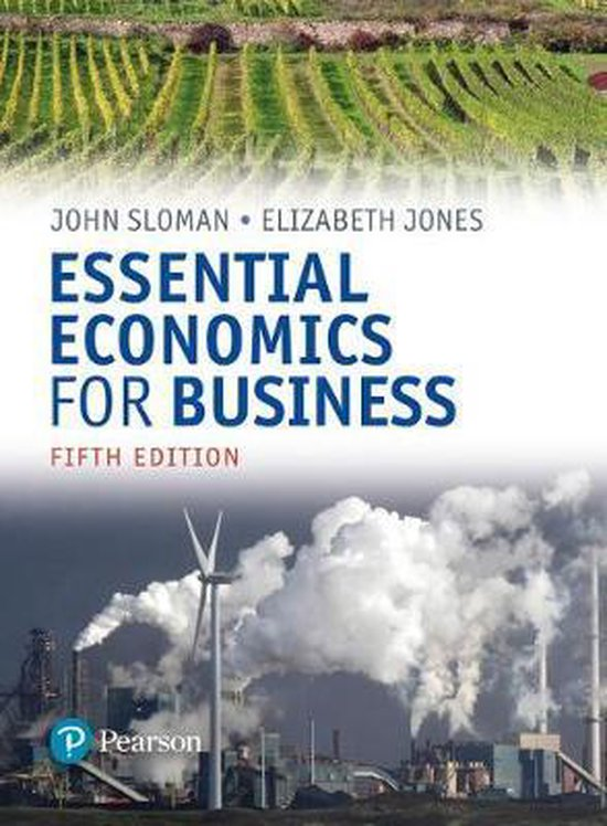 Boek cover Essential Economics for Business (Formerly Economics and the Business Environment) van John Sloman (Paperback)
