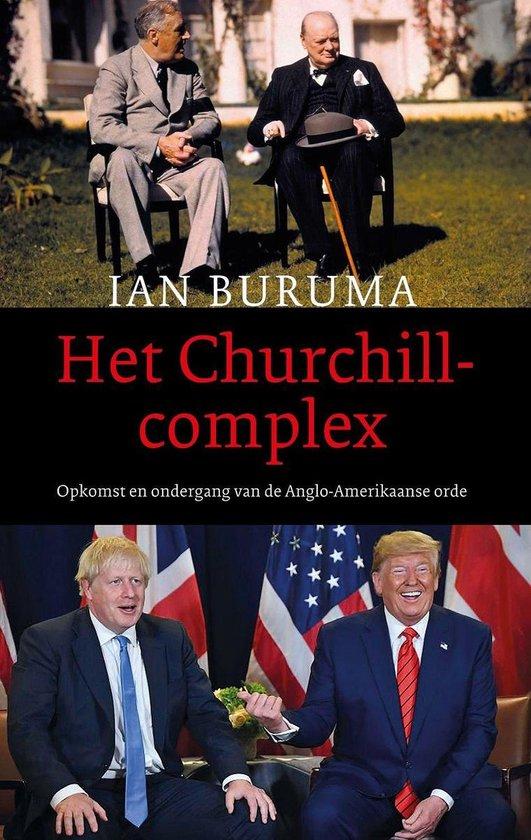 Boek cover Het Churchillcomplex van Ian Buruma (Onbekend)