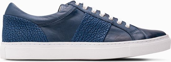 Paulo Bellini Sneaker La Spezia Leather/Suede Blue.