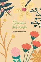 Opruim-Doe-boek Werkboek