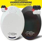ForGoods® Ongedierte Verjager  - Muizenverjager - Muizenval - Ultrasone - Insecten Bestrijden - Ongedierte Bestrijden - Diervriendelijk - (1 stuk wit) - Extra Sterk - Model 2021
