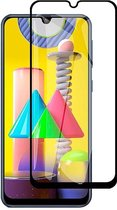 Shop4 - Samsung Galaxy M31 Glazen Screenprotector - Edge-To-Edge Gehard Glas Transparant