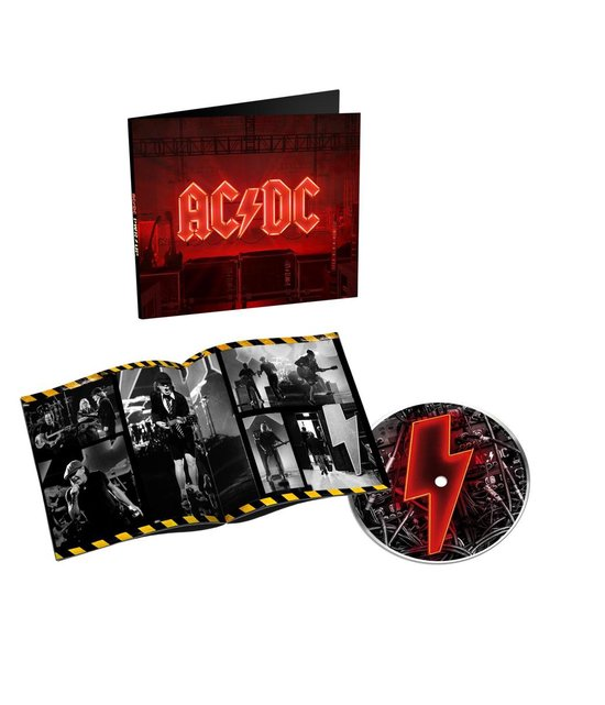 CD cover van Power Up van AC/DC