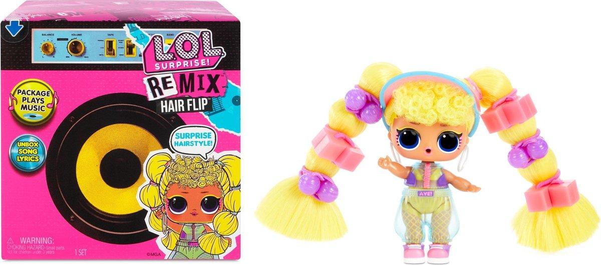 L.O.L. Surprise! Remix Hairflip Tots Serie A - Minipop