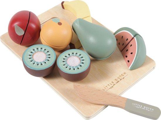 Little Dutch Speelgoed Houten Snijfruit