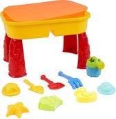 Bramble - Kleine Zand- en Watertafel met Deksel - Inclusief 8 Strandspeelgoedjes