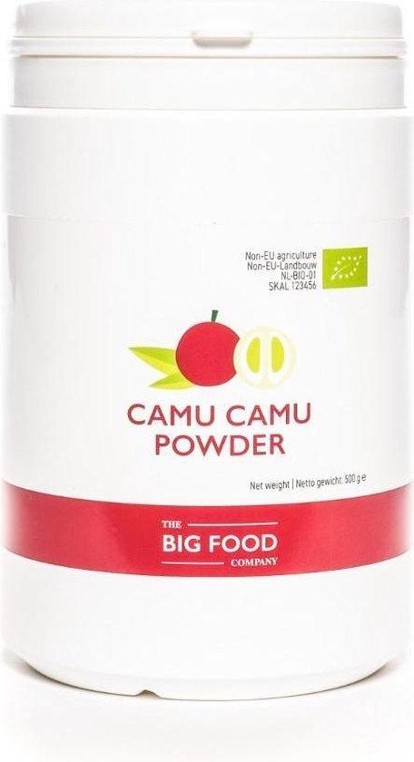 BIGFOOD Big Food Camu Camu Poeder - 500 Gram - Small Bulk