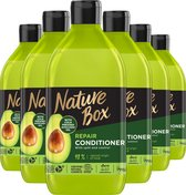 Nature Box Avocado Conditioner 6x 385 ml - Voordeelverpakking