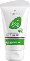 Vochtigheid gezichtsmasker, Aloe vera express vochtigheids masker