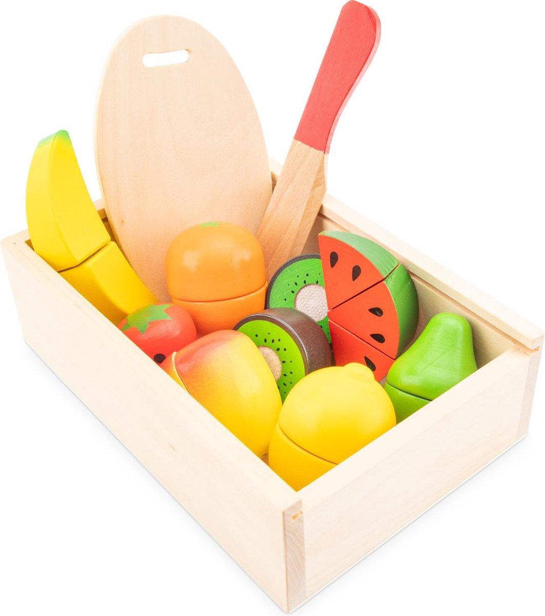 New Classic Toys Houten Speelgoed Fruitset