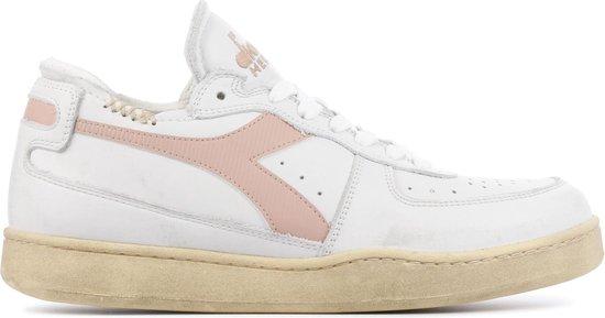 Diadora Heritage Vrouwen Sneakers -  Mi basket row cut - Roze - Maat 38