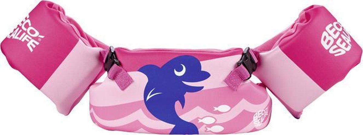BECO-SEALIFE zwemset, roze, 15-30 kg, zwembandjes & zwemgordel