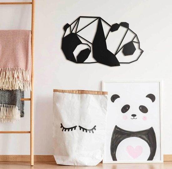 Bol Com Metalen Decoratie Panda Wanddecoratie Hoagard Wall Deco Panda Muurdecoratie
