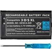 Thredo Batterij / Accu voor Nintendo 3DS XL 2500mAh