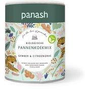 Panash Gember & Citroengras pannenkoekenmix - biologisch & vegan - geen e-nummers - 400 gram pannenkoekmix