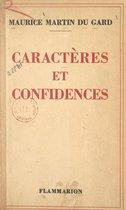 Caractères et confidences