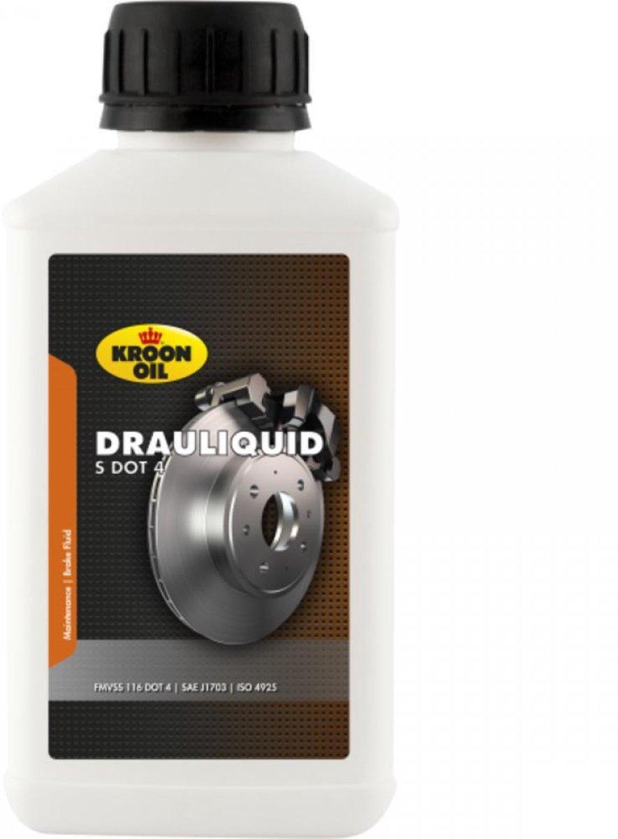 Kroon Oil Remvloeistof Drauliquid-s Dot4 250 Ml