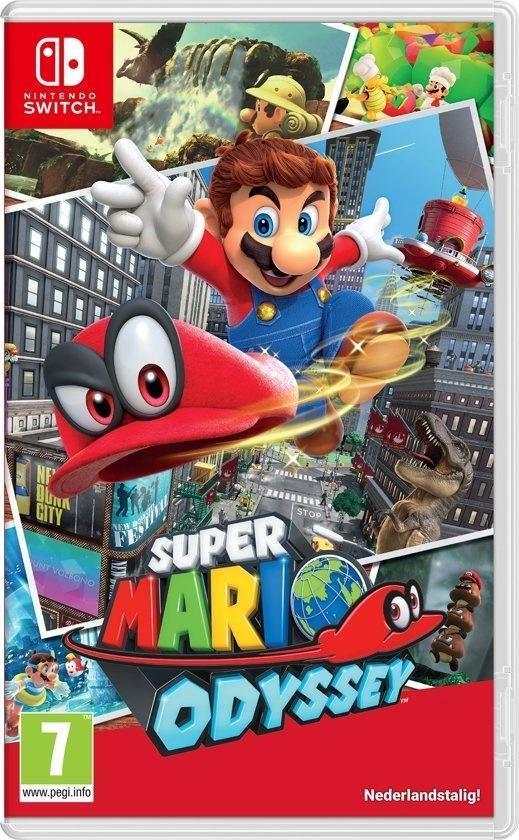Cover van de game Super Mario Odyssey - Nintendo Switch
