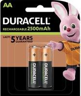 Duracell - 2 x AA Recharge Ultra 2500 mAh