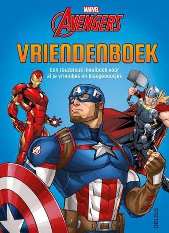 Afbeelding van Avengers vriendenboek
