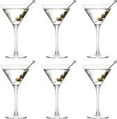Libbey Cocktailglas Joya Martini - 260 ml / 26 cl - 6 Stuks - Vaatwasserbestendig - Hoge kwaliteit - Elegant design - Perfect voor een cocktailfeest aan huis