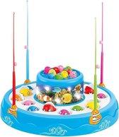 JollyPlay - Fishing Game met Geluid - Hengelspel - Vis spel - Blauw
