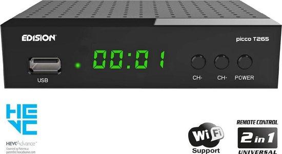 Edision Picco T265 DVB-T2 Ontvanger