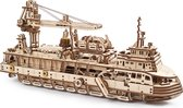 UGears Research Vessel 3D-puzzel