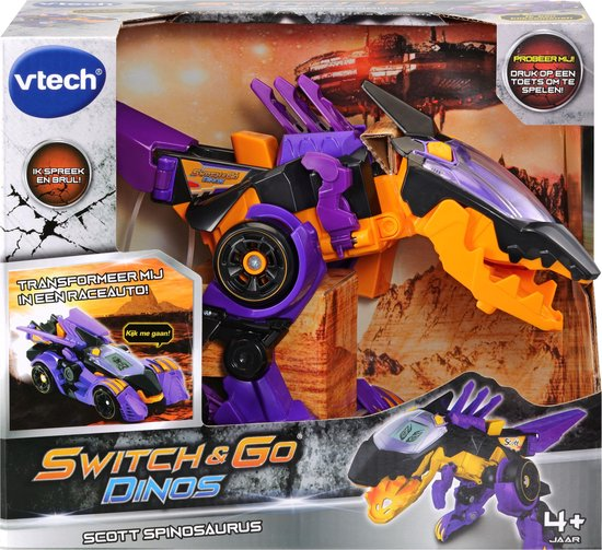 VTech Switch & Go Dino's Scott Spinosaurus