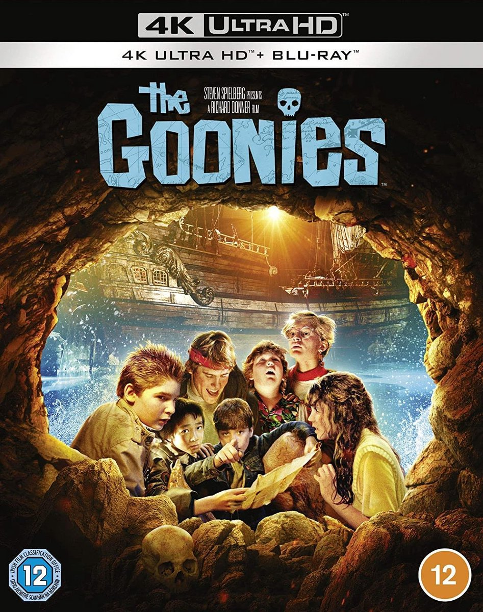 The Goonies [4K UHD - Blu-ray] [1985] [Region Free]-