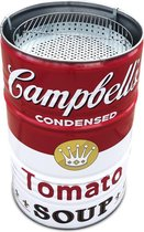 Barrelkings multifunctioneel houtskool barbecue-vuurkorf en statafel in 1 Special Edition Campbell's Soup Design