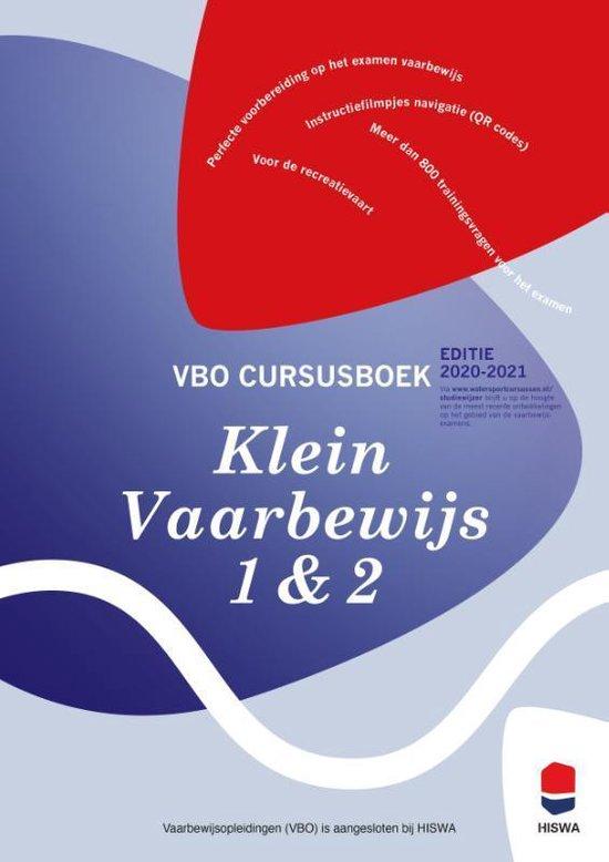 Boek cover Cursusboek Klein Vaarbewijs 1 en 2 van Ben Ros (Paperback)