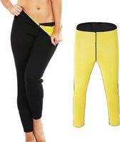 LOUZIR  Thermische Afslankbroek - Body shapers - Fitness Leggings - Vetverbranding- Sauna thermo legging- Yoga broek- Hoge taille- Fitness Maat XL