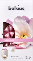 Bolsius True Scents Wax Melts - Magnolia - 6 stuks