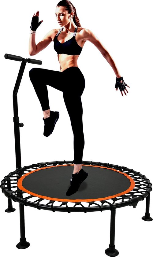 MaxxToys Trampoline - Jump - Fitness - Ronde volwassene of kindertrampoline - 100 cm
