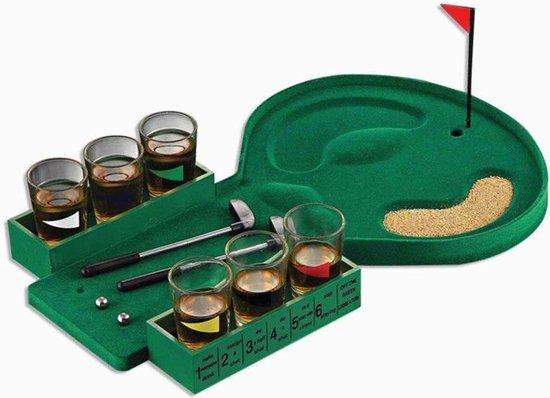 Afbeelding van het spel Minigolf - drankspel - Shotjes