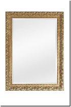 Spiegel Antonio Napoli Goud Buitenmaat 116x147cm