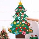 Vilten kerstboom voor kinderen incl 30 accessoires, kerstslinger, verlichting, kerstmuts en GRATIS sealer – Mini kerstboom vilt - Kunstkerstboom- Mini kerstboom - Adventskalender 2020 - Adventskalender - Kinder kerstboom - Kerstversiering -