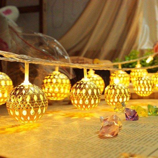 Bol Com Decorative Lighting 10 Ballen 2 5cm O Decoratieve Verlichting Geen Stekker Nodig