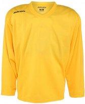 IJshockey training shirt Bauer goud/geel maat Youth L