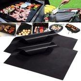 2  grote Grillmatten, Barbeque Mat, Non stick - BBQ mat, Anti aanbak mat, Anti Aanbaklaag Koekenpan