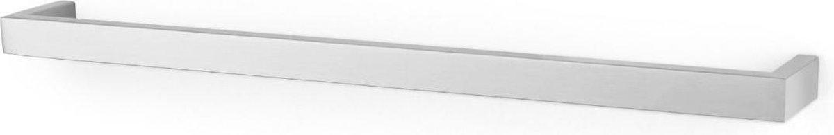 Zack handdoekhouder Linea mat geborsteld rvs - 61,5 cm - boren - 40388
