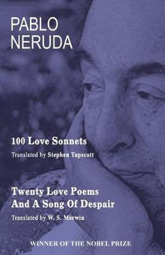 Boek cover 100 Love Sonnets and Twenty Love Poems van Pablo Neruda (Paperback)