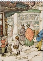Anton Pieck WEEKnotitiekalender 2021 - Straatbeeld