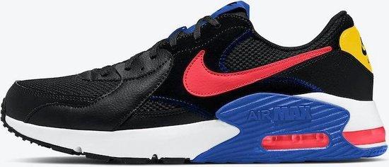 Nike Air Max Axcee heren sneaker zwart/rood/blauw maat 44