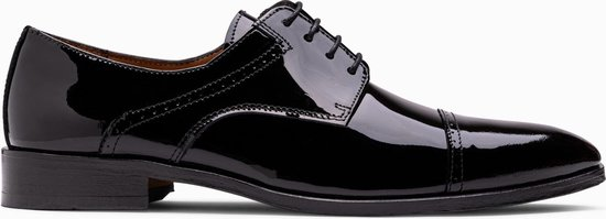 Paulo Bellini Dress Shoe Monza Black Lack Leather