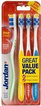 Jordan - Total Clean Toothbrush Soft 4Pcs.