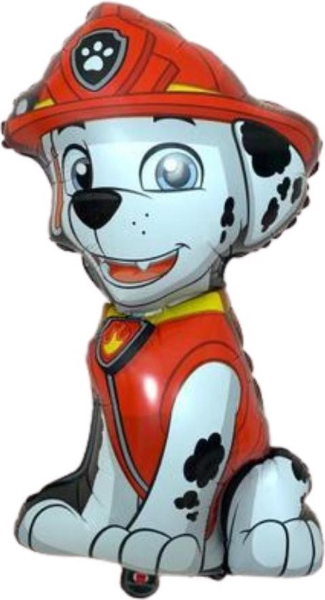 Marshall Ballon - Paw Patrol - Paw Patrol Marshall - Paw Patrol Speelgoed - Ballonnen - 70 x 40 cm
