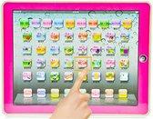 Engels Leercomputer - Educatief Speelgoed - Kinder Tablet - Iintelligent Leren - EduToys - Educatieve Leermachine Roze